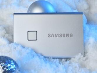 正式发售!三星移动固态硬盘T7 Touch来了