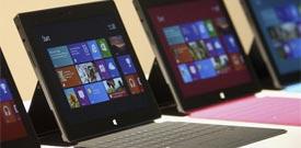 微软Surface平板五大挑战