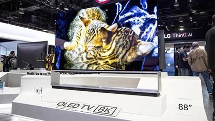 LG 8K OLED电视售价21万元