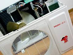 海尔空调挑战高温酷暑