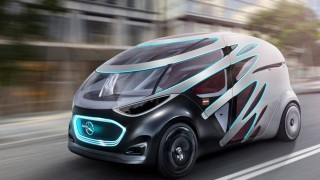 定位未来智慧交通 奔驰展示模块化乘用车