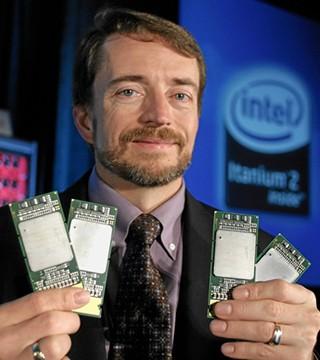 英特尔决定放弃制造安腾服务器芯片