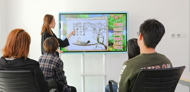 互助教学让课堂更生动 皓丽幼教培训一体机评测