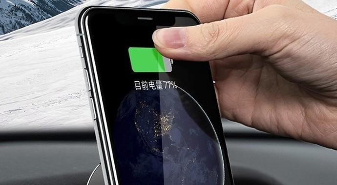 支持无线充电 开车导航就用70迈车载手机支架