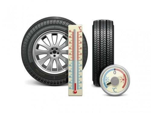 冬天气温低关注轮胎的压力