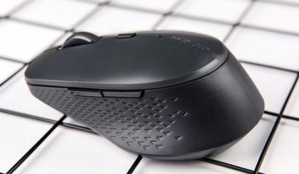 便携灵巧 雷柏M300S多模无线充电鼠标上手