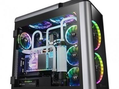 炫彩DJ效果 Tt Level 20 GT RGB机箱