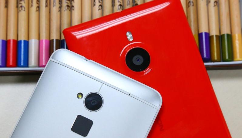 Lumia1520/HTC One max比一比