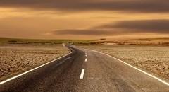 超美自然风光公路壁纸