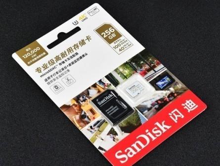 闪迪专业级高耐用存储卡评测