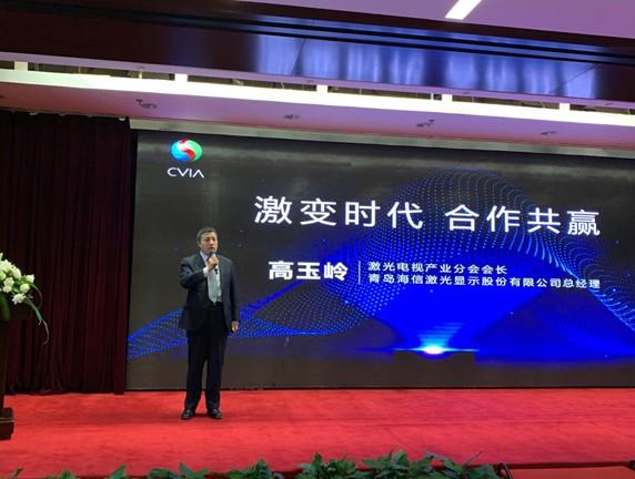 前景光明 海信携手中国激光电视企业集中发声