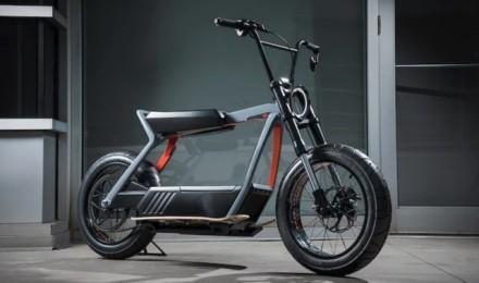 哈雷摩托转型电动 新款概念依旧霸气外露