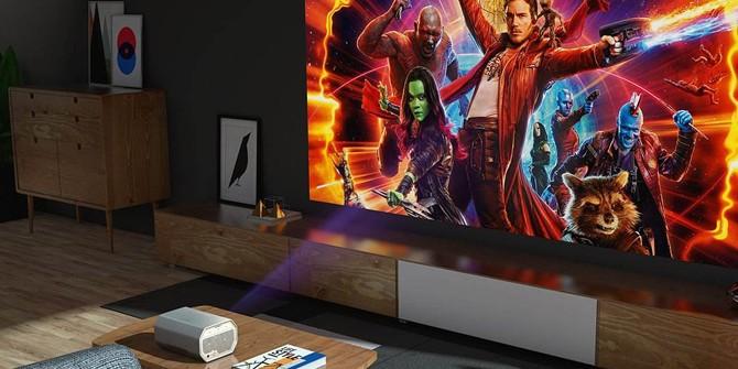 大屏才有沉浸感 4K家用投影让你忘却液晶电视