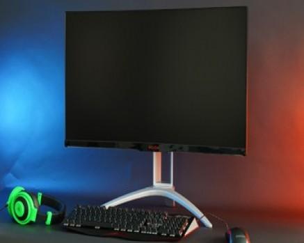 强强联手�爱攻AG322QCG电竞显示器评测