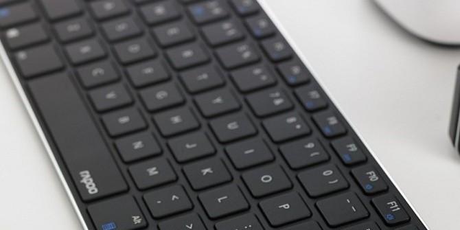 雷柏E6080蓝牙刀锋键盘上市