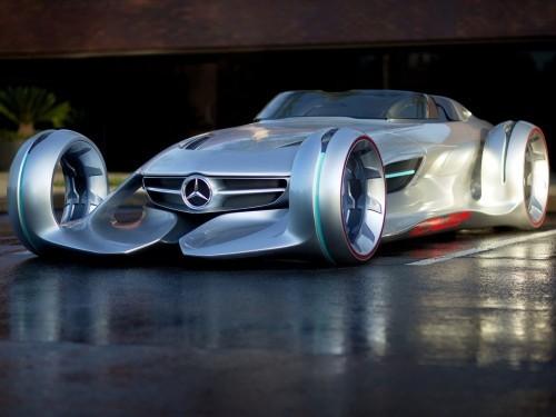 奔驰Silver Arrow概念跑车