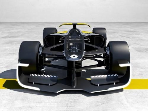 雷诺R.S.2027概念F1赛车