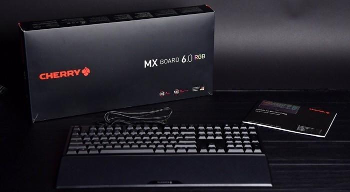 原厂 Cherry MX BOARD 6.0 RGB键盘评测