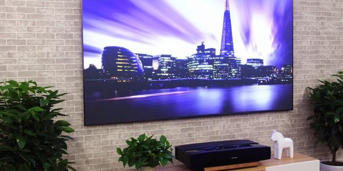 家用百吋屏 4K激光电视竟然这么便宜?