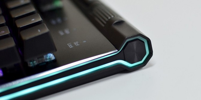 这键盘有灯带!达尔优EK812升级版炫酷