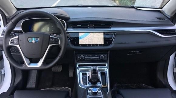 全新帝豪EV450内饰曝光 最新家族设计
