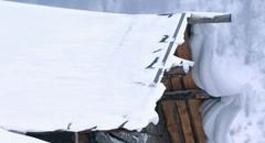 冬天白雪小村庄壁纸