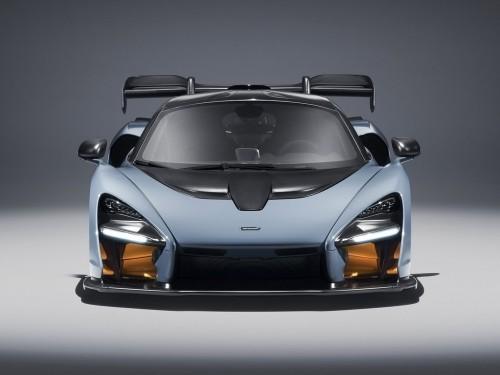 大劲撩车:碳纤加持迈凯伦塞纳Carbon Theme