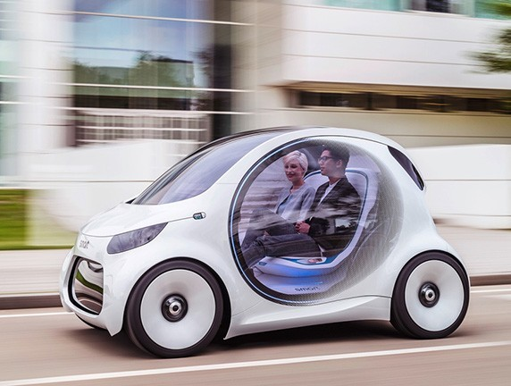 2030年汽车长这样 奔驰Smart未来版曝光