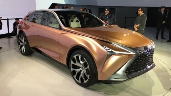 未来旗舰SUV车型 雷克萨斯LF-1 Limitless