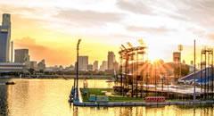 新加坡城市美景手机壁纸