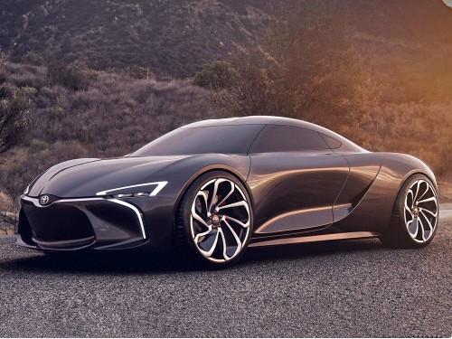 大劲撩车:不仅是传说,丰田MR-2概念车