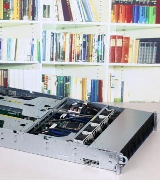高密度四路服务器 杰和GCR2524MP-RF首测
