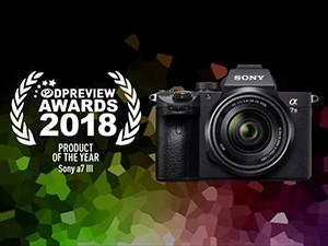 索尼微单A7M3获DPReview年度大奖