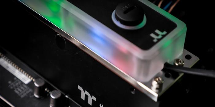 愿为你冷酷到底 Tt WaterRam RGB内存评测
