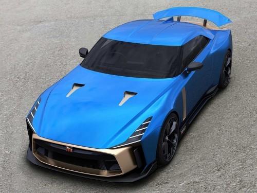 大劲撩车:延续经典,日产GT-R50图赏