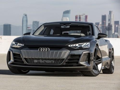 大劲撩车:堪称典范奥迪e-Tron GT概念车