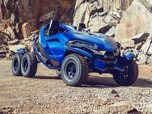 六轮机械怪兽Azaris概念车