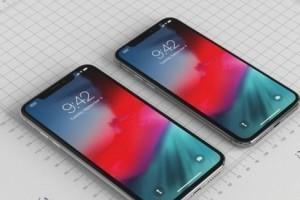 iPhone新机渲染图再曝 正面和苹果X没差