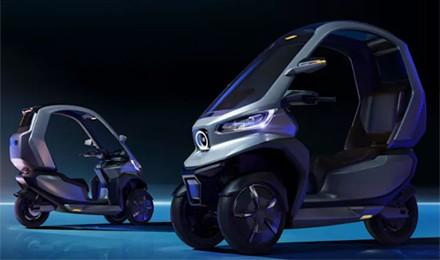 小牛闪耀CES!全球首款自动驾驶5G电摩来了