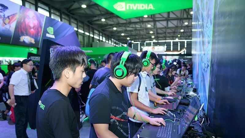 NVIDIA CJ让游戏热爆棚