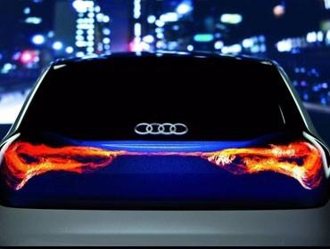 奥迪宝马奔驰标配 原来OLED灯能这么美