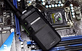 USB充电 海能达数字对讲机BD300真机图赏