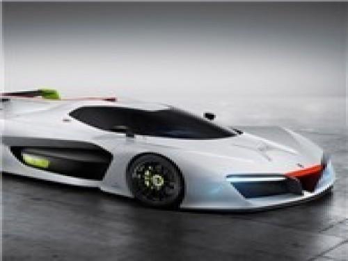 氢燃料超跑宾尼法利纳H2Speed