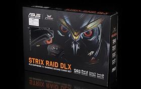 猛禽驾临 华硕Strix Raid DLX声卡图赏