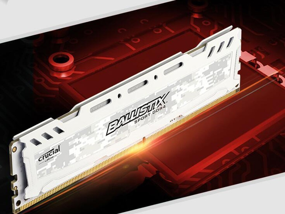 原厂美光品质! 英睿达DDR4 8G内存促
