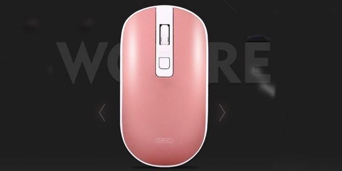 对称设计 英菲克PM7充电蓝牙静音鼠标