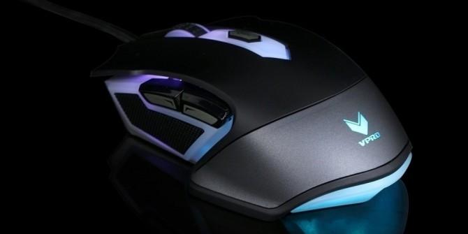 办公游戏两用 雷柏V302幻彩RGB鼠标129元