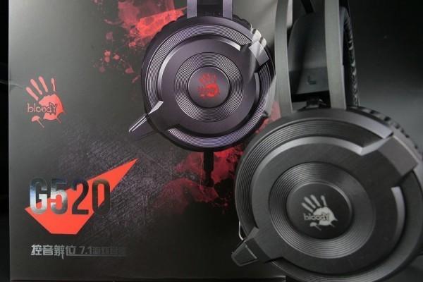 游戏人生也专业 血手幽灵G520电竞耳机体验