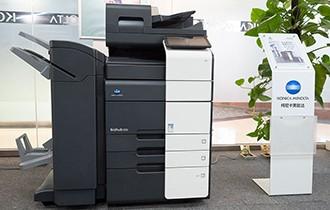 柯尼卡美能达550i黑白复合机评测