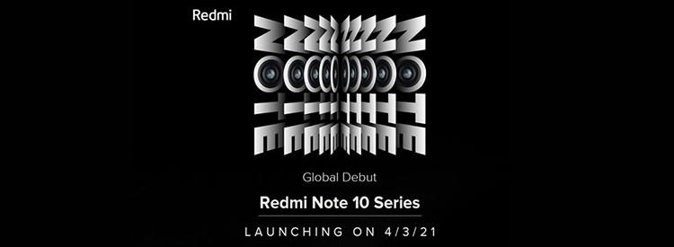 Redmi Note 10新品发布会